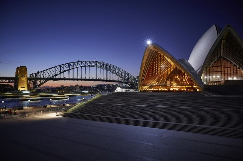 Culture and Wine Cellars of Sydney Opera House View